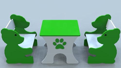 Ayıcık Masa ve Sandalye