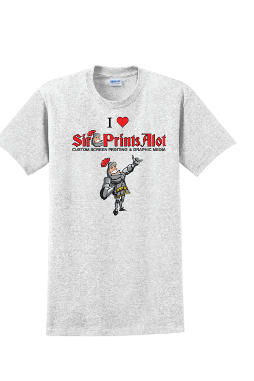 I Love Sir PrintsAlot Tee