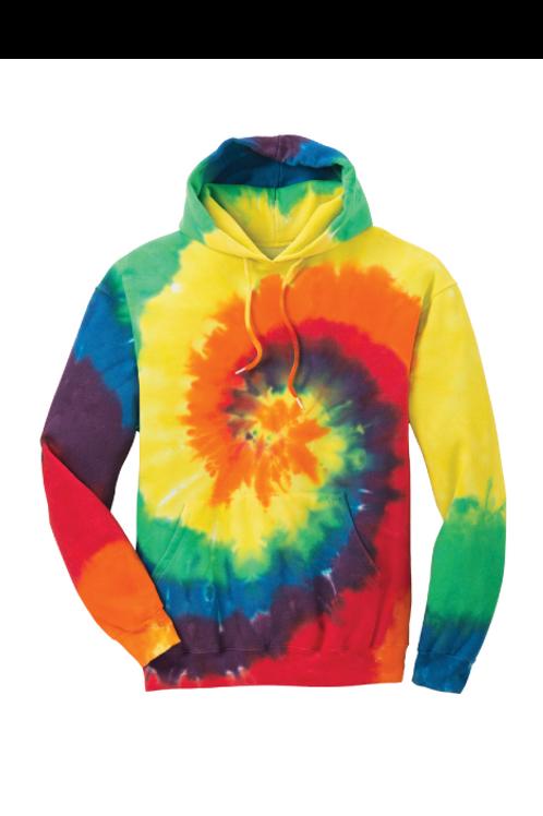 Rainbow Tie-Dye Hoodie