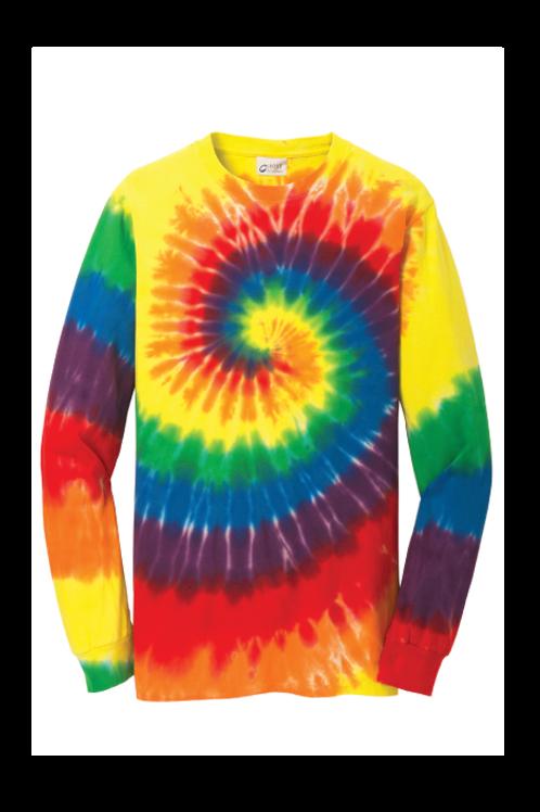 Rainbow Tie-Dye Long Sleeve