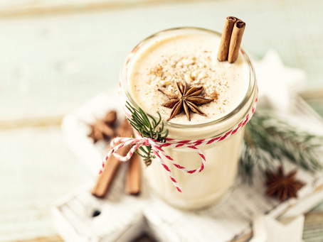 Vegan Egg Nog & A Bonus Recipe!
