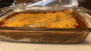 Plant-Based Enchiladas (*gluten-free)