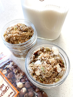 Grain-Free Hazelnut Granola