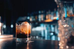 """The Godfather"" Italian Christmas Cocktail"