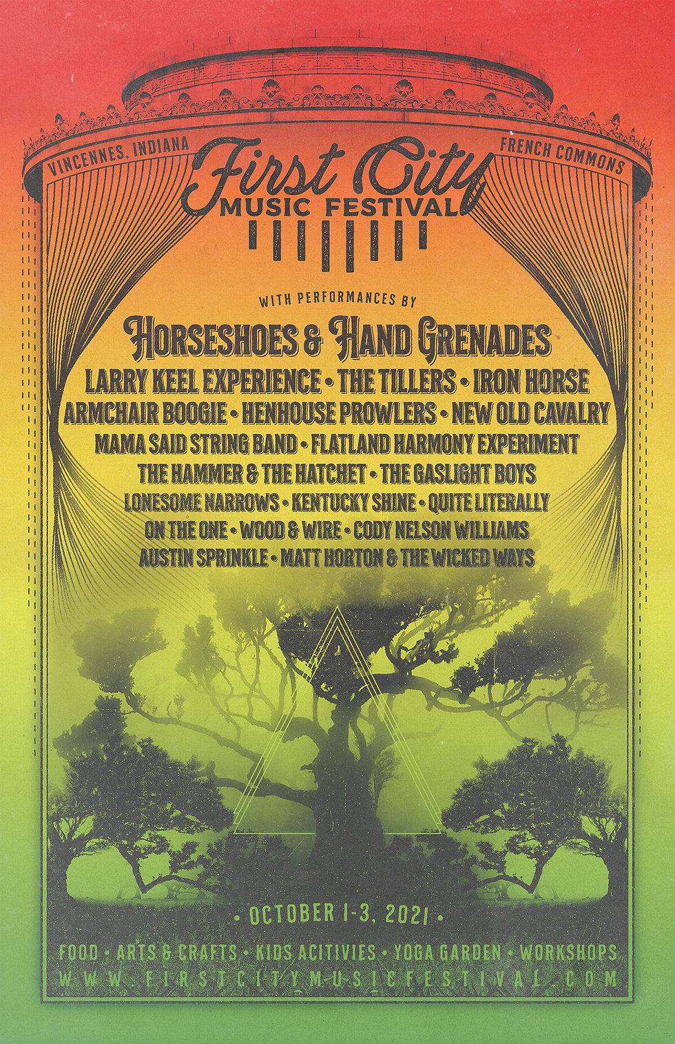 First City Music Fest 2021 - 5-5x8-5 Sin