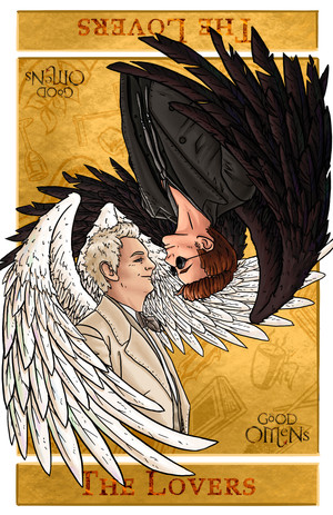 Aziraphale and Crowley from Good Omens (