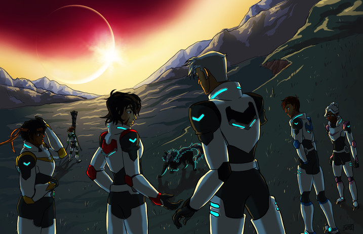 Eclipse - Characters from Voltron: Legen