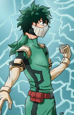 Deku from My Hero Academia