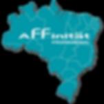 Mapa do Brasil - Affinität Profissional