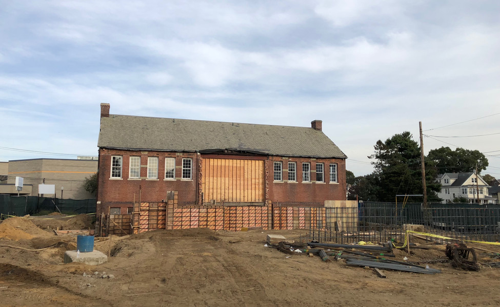Newfield Library - Construction
