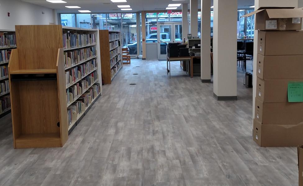 East Main Street  Library (renovation)