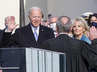 Biden Takes the Oath