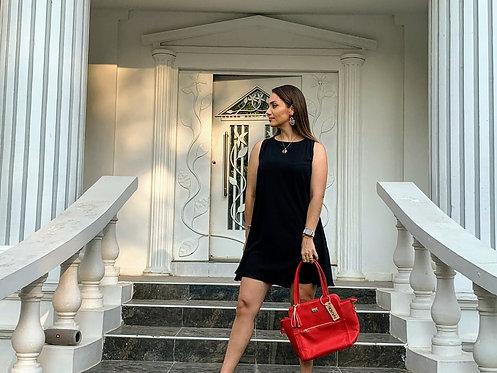 Vestido-Bluson Negro