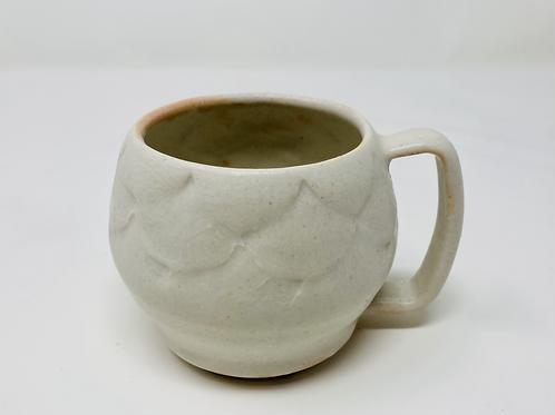 8 oz orangesicle curvy cappuccino mug set