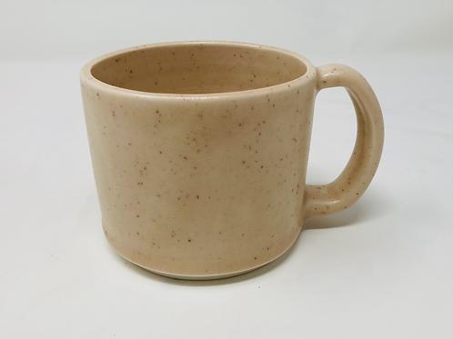 10 oz coral matte latte mug set