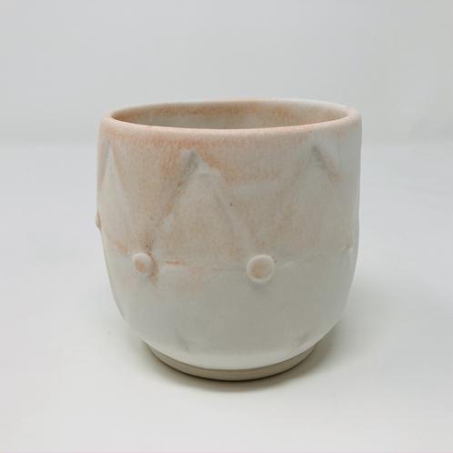 orangesicle teardrop tea cup