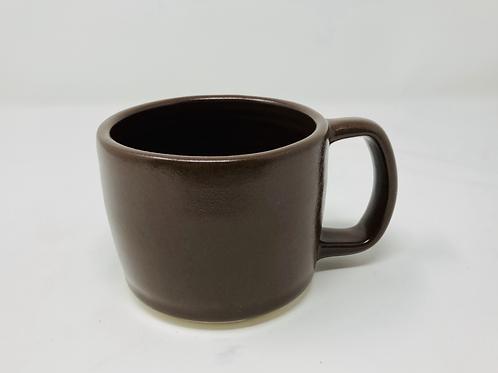10 oz walnut matte latte mug