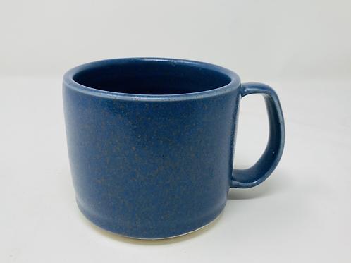 10 oz speckled delft matte latte mug