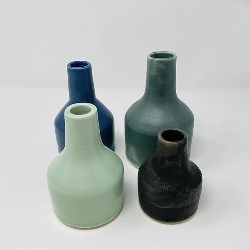 set of bottleneck vases