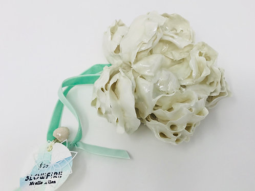 large porcelain flower