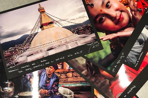 Autorská fotografie z Nepálu