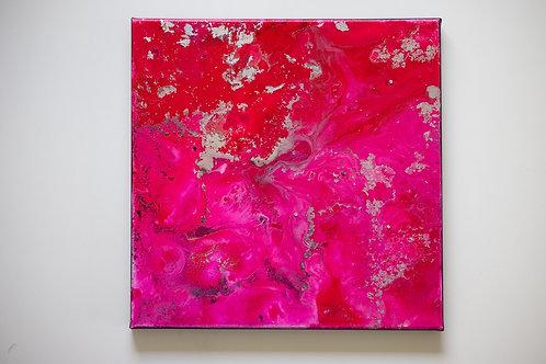 Akryl na plátně 30x30cm soul