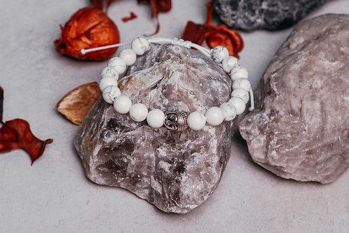 náramek minerál Magnezit - Budha