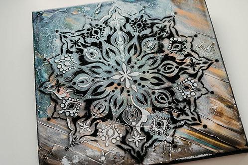 Akryl na plátně - obraz 40x40