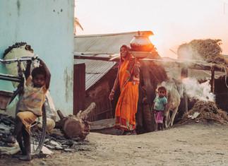 život na vesnici, Nepál