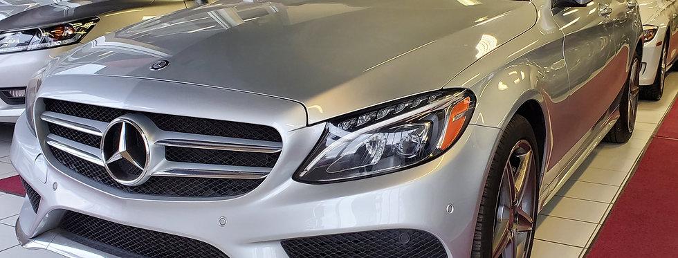 2015 MERCEDES BENZ C300 AMG SPORT