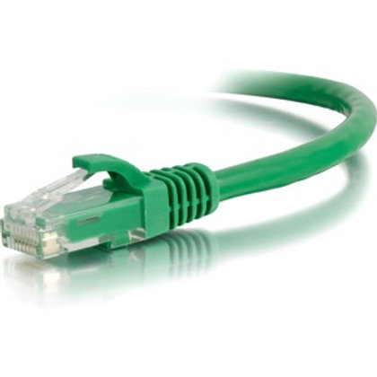 C2G 6in Cat6 Snagless Unshielded (UTP) Network Patch Cable-(Green)