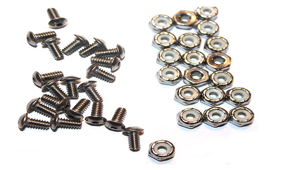 STAINLESS Replacement Screws and Nuts