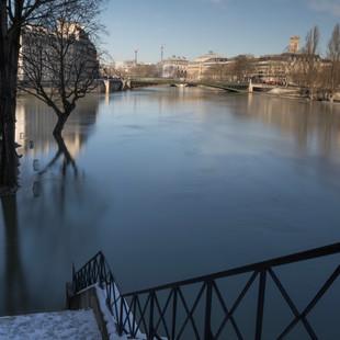 La crue de la Seine
