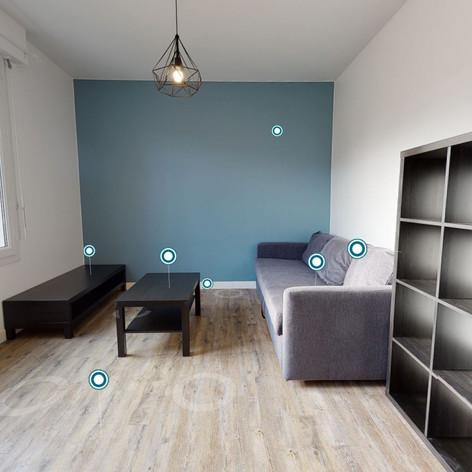 Appartement situé à Luçon (à louer)