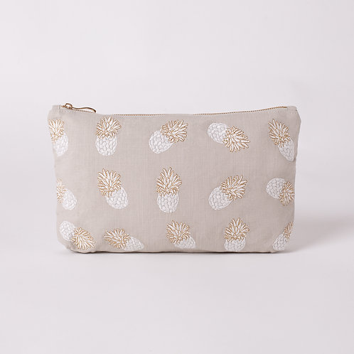 Pineapple Cloud Everyday Pouch
