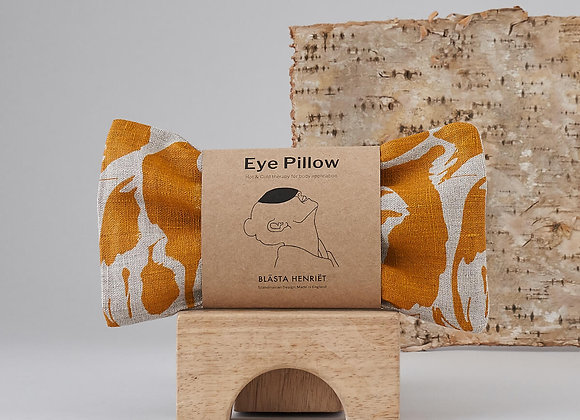 Blasta Henriet Eye Pillow -Yellow Print