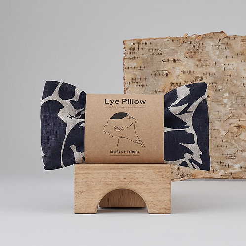 Blasta Henriet Eye Pillow -Navy Print