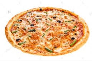 Pizza Familiar 3 Quesos Especial