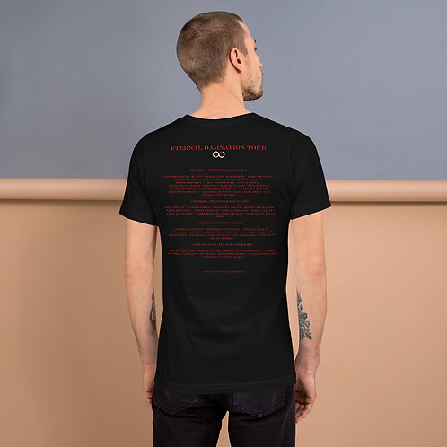 Eternal Damnation Tour (Lineup on Back) Unisex T-Shirt