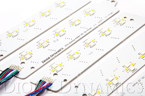 Diode Dynamics DRL LED-Boards Multicolor EU RGBWA