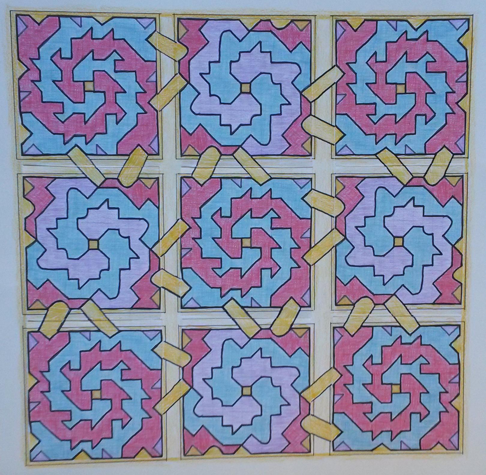16 Mozaiek