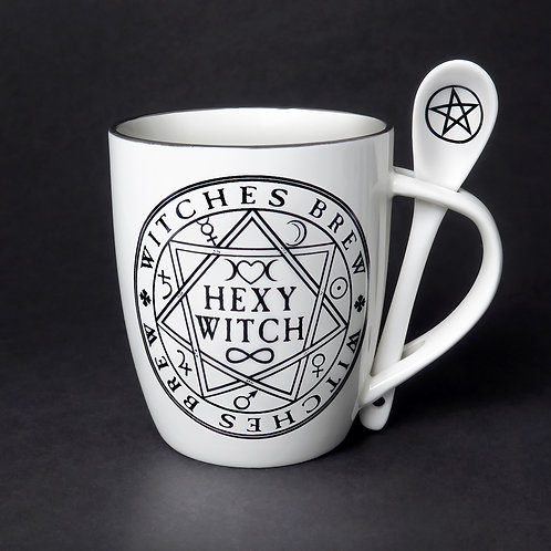 Hexy Witch Cup and Spoon