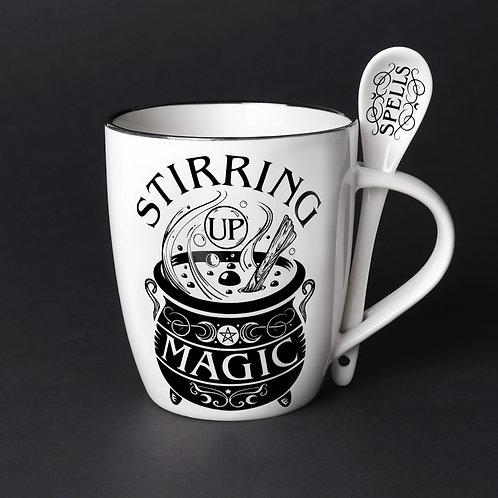 Stirring Up Magic Mug & Spoon Set
