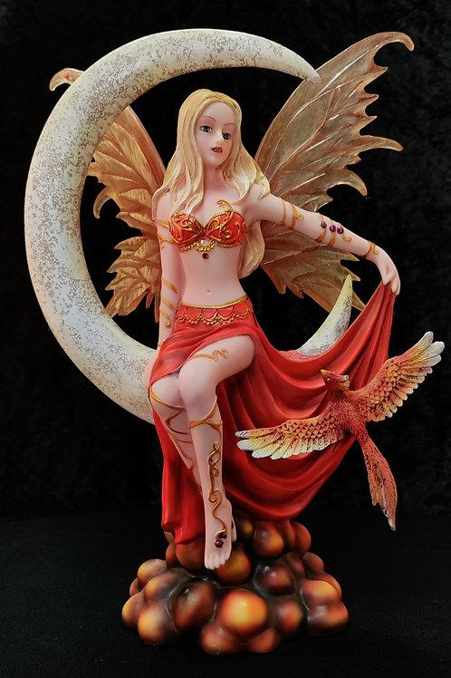 Fire Moon Fairy by Nene Thomas