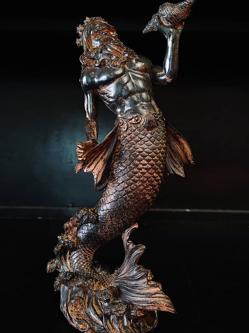 Poseidon with Horn
