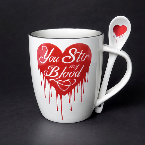 You Stir My Blood Cup and Spoon