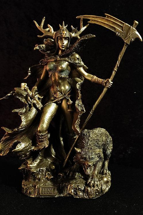 Hel Goddess of the Norse Underworld
