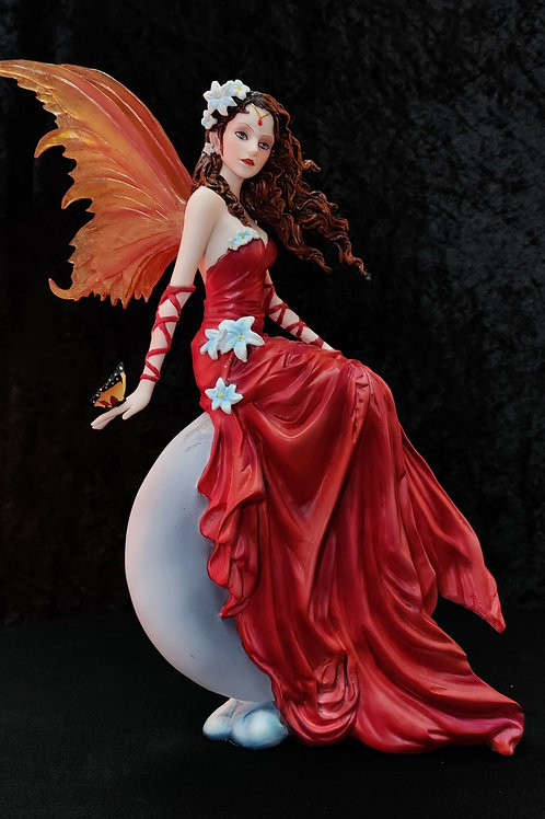 Crimson Lilly by Nene Thomas