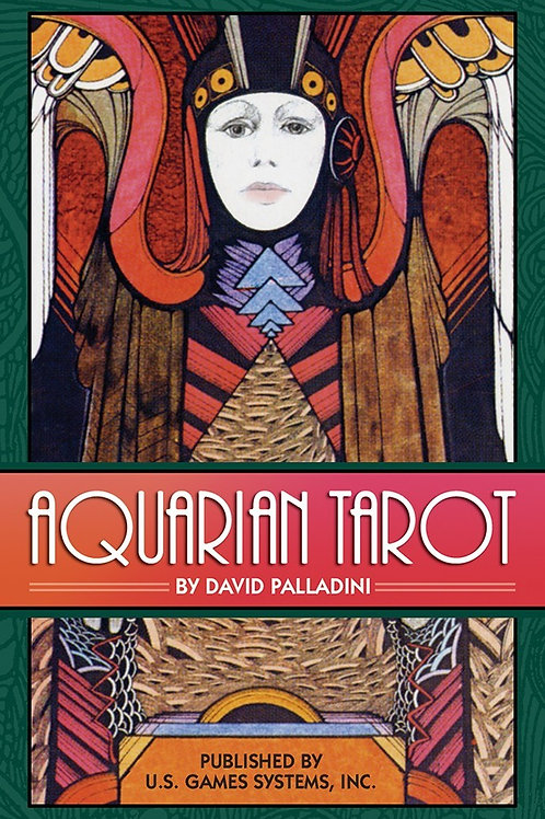 Aquarian Tarot in a Tin