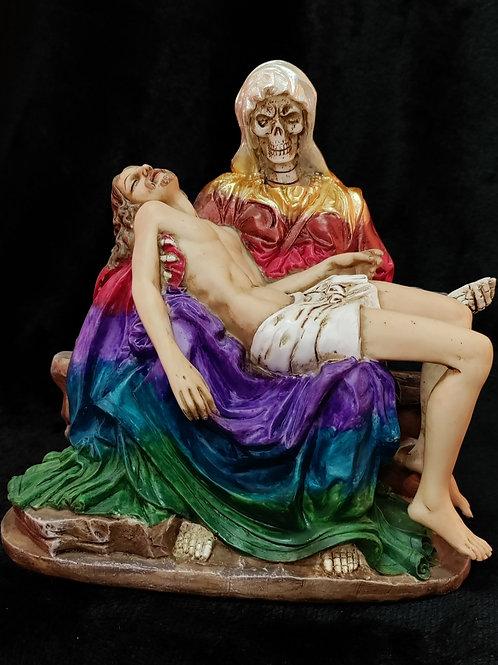 Piadosa Santa Muerte (Rainbow)